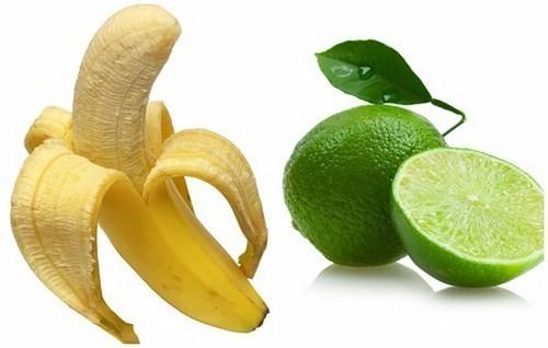 Chanh và vỏ chuối là nguyên liệu tẩy trắng răng tại nhà