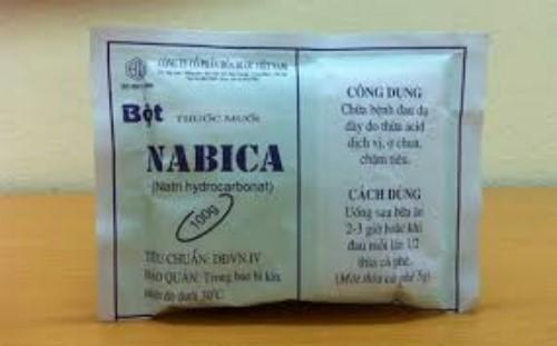 Muối Nabica có công dụng làm trắng răng