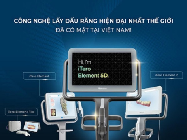 Máy quét dấu răng iTero Element 5D đã có mặt tại Việt Nam