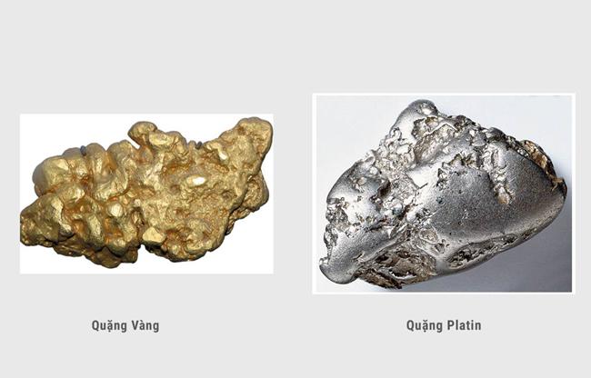 Hợp kim quý sẽ có lượng kim loại thuộc nhóm vàng và bạch kim chiếm trên 25%