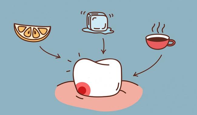 Răng bị sâu sẽ dễ nhạy cảm và ê buốt hơn