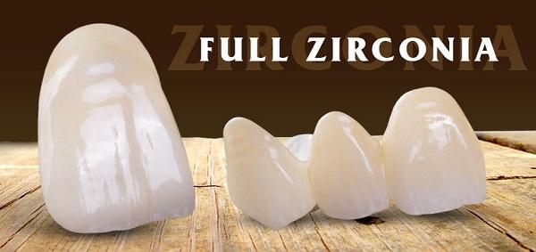 Mão Zirconia nguyên khối