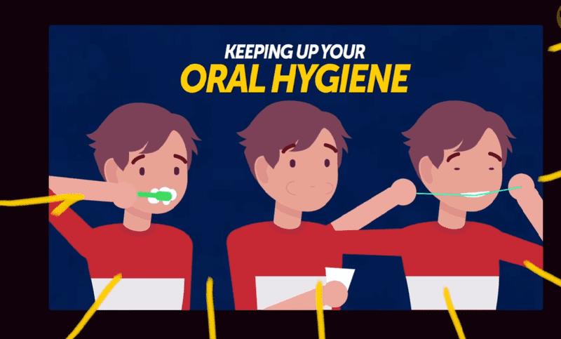 Vệ sinh răng miệng thường xuyên khi niềng răng là điều rất quan trọng
